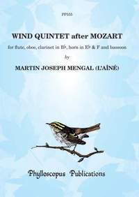 Mengal: Wind Quintet after Mozart
