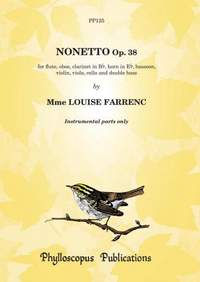Farrenc: Nonetto Op. 38 (1849) - (Instrumental Parts only)