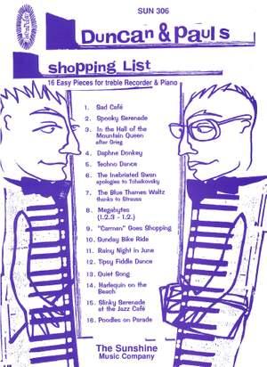 Carr: Duncan & Pauls Shopping List