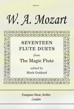Mozart: Seventeen Flute Duets from The Magic Flute