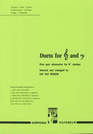van Beekum: Duets for treble and bass clef