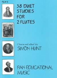 Hunt: 38 Duet Studies for 2 Flutes