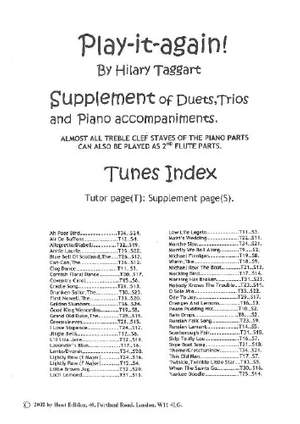 Play it again! Supplement