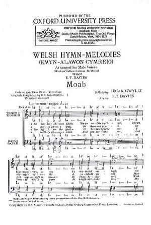 Gwyllt: Moab