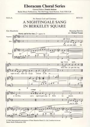 Sherwin: Nightingale Sang In Berkeley Square, A