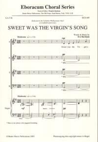 Barsham: Sweet Was The Virgin's Song