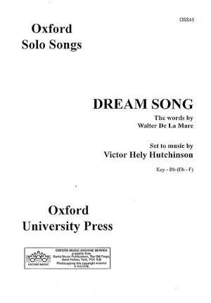 Hutchinson: Dream Song