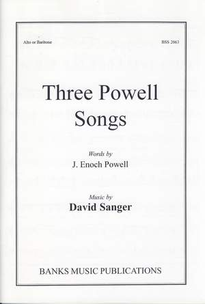Sanger: Three Powell Songs