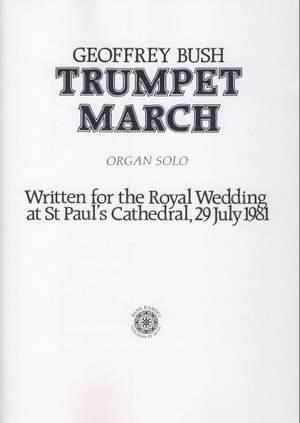Bush: Trumpet March Product Image
