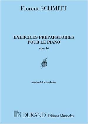 Schmitt: Preparatory Exercises Op.16 (ed. L.Garban)