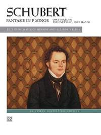 Franz Schubert: Fantasie in F Minor, Op. 103, D. 940