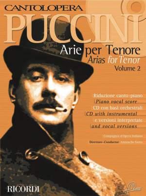 Puccini: Arias for Tenor Vol.2 (Cantolopera)