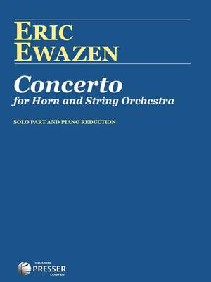 Ewazen: Concerto for Horn and string Orchestra