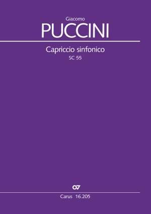Puccini: Capriccio Sinfonico (SC 55) Product Image
