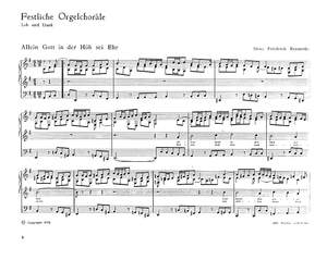 Reimerdes: Festliche Orgelchoräle - Lob und Dank