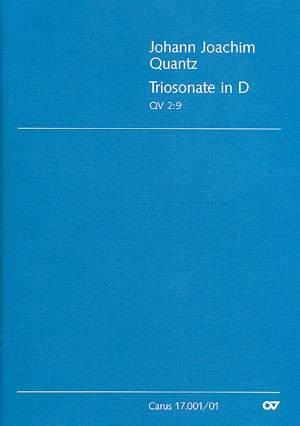 Triosonate in D (QV 2:9; D-Dur)