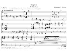 Bezler: Klagelied für Orgel Product Image