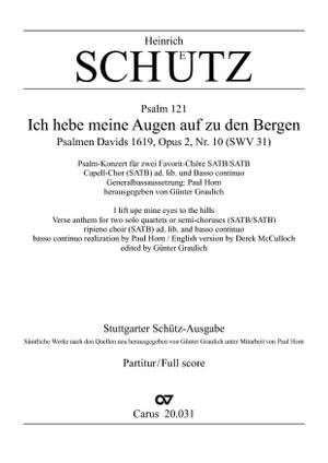 Schütz: Ich hebe meine Augen auf zu den Bergen (SWV 31 (op. 2 no. 10); dorisch)