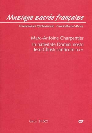 Charpentier: In nativitate Domini nostri Jesu Christi canticum (H 421)