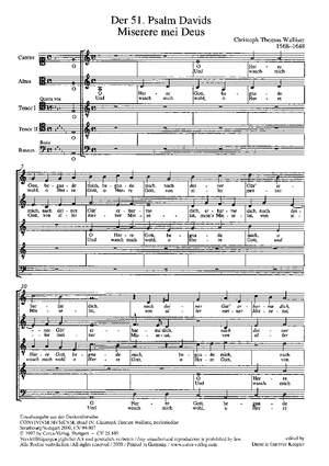 Walliser: Der 51. Psalm Davids