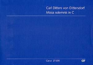 Dittersdorf: Missa solemnis in C (KreD 326; C-Dur)