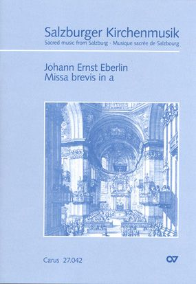 Eberlin: Missa brevis in a