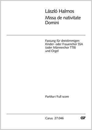 Halmos: Missa de nativitate Domini (F-Dur)