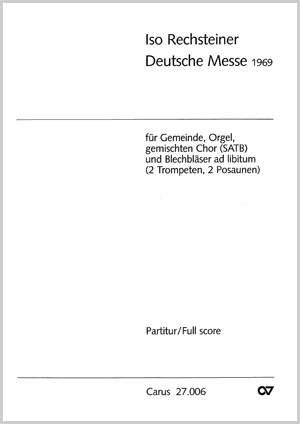 Rechsteiner: Deutsche Messe