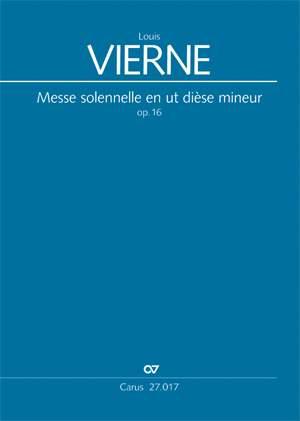 Vierne: Messe solennelle en ut dièse mineur (Op.16; cis-Moll)