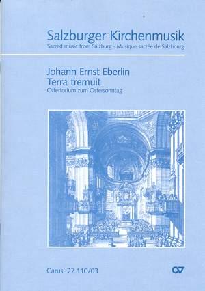 Eberlin: Terra tremuit (C-Dur)