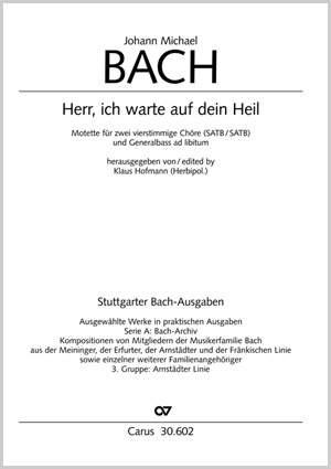 Bach, JM: Herr, ich warte auf dein Heil