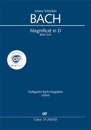 Bach, JS: Magnificat in D (BWV 243; D-Dur)