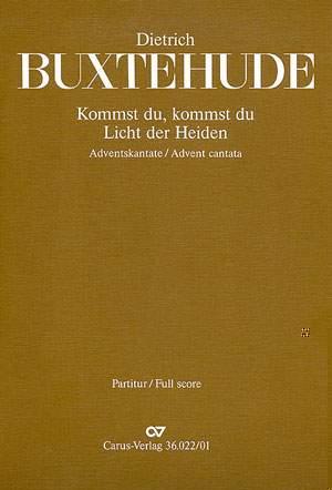Buxtehude: Kommst du, Licht der Heiden (BuxWV 66; B-Dur)