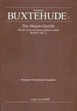 Buxtehude: Das jüngste Gericht (Anh. 3)