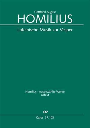 Homilius: Lateinische Musik zur Vesper
