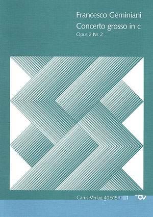 Geminiani: Concerto grosso in c (Op.2 no. 2)