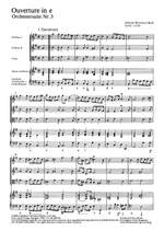 Bach, JB: Orchestersuite Nr. 3 (e-Moll) Product Image