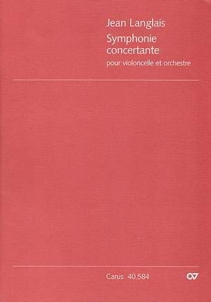 Langlais: Symphonie concertante pour violoncello et orchestre (Op.20)