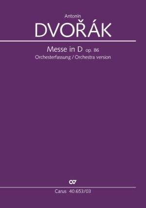 Dvorák: Messe in D (Op.86; D-Dur)