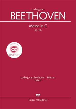 Beethoven: Mass in C major, Op. 86