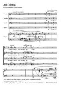 Goicoechea: Ave Maria (B-Dur)