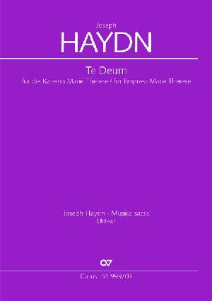 Haydn: Te Deum for Empress Marie Therese Hob. XXIIIc:2