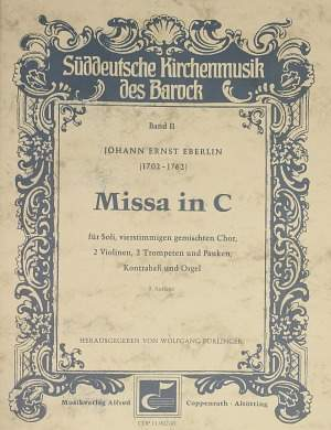 Eberlin: Missa in C (C-Dur)