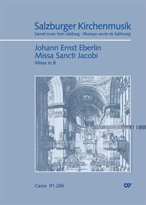 Eberlin: Missa Sancti Jacobi in B