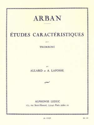 Arban: Etudes caractéristiques