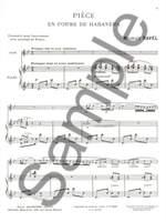 Ravel: Pièce en Forme de Habañera Product Image