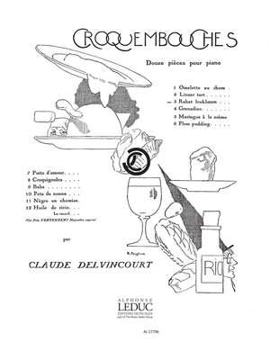 Claude Delvincourt: Croquembouches No.3 - Rahat Loukhoum