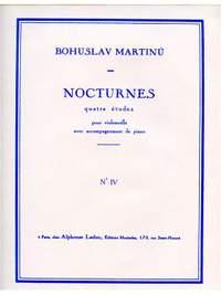 Bohuslav Martinu: Nocturnes H189 No.4