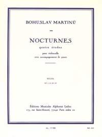Bohuslav Martinu: Nocturnes For Cello And Piano H189