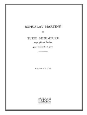 Bohuslav Martinu: Bohuslav Martinu: Suite miniature H192, No.7